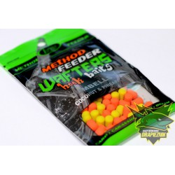 Lorpio Wafters Hook Baits Dumbells 7mm - Coconut & Pineapple // Kokos & Ananas