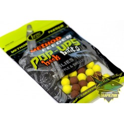 Lorpio Pop-Ups Hook Baits Boilies 10mm - Pineapple & Shellfish // Ananas & Skorupiak