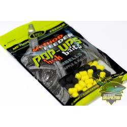 Lorpio Pop-Ups Hook Baits Dumbells 7mm - Pineapple & Halibut  // Ananas & Halibut