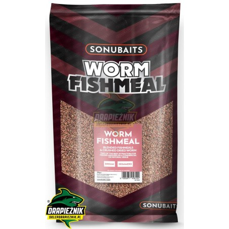 Sonubaits Supercrush - Worm Fishmeal Groundbait