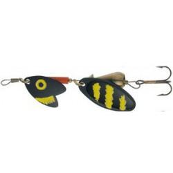 Mepps Trout Tandem 2 - Czarno-Żółty