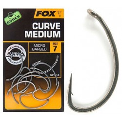 Haczyki Fox Edges Curve Shank Medium