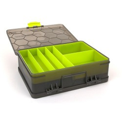 Organizer Matrix Double Sided Feeder and Tackle Box
