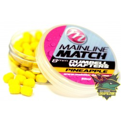 Match Dumbell Wafters 8mm - Pineapple
