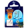Przypony Jaxon Method Feeder PE Line Bait Band 10cm - roz. 8