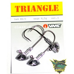 Główki Triangle hak 4/0 - 6.5g