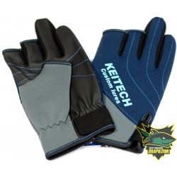 Rękawiczki Keitech Niebieskie - roz. L