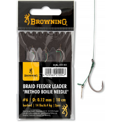 Przypony Browning Braid Method Boilie Needle 10cm
