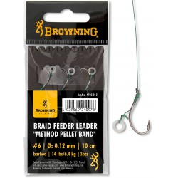 Przypony Browning Braid Method Pellet Band 10cm