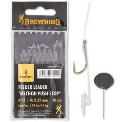 Przypony Browning Feeder Leader Method Push Stop 10cm