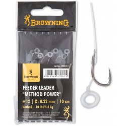 Przypony Browning Feeder Leader Method Power BARBED 10cm