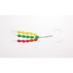 Stopery gumowe kolorowe - L