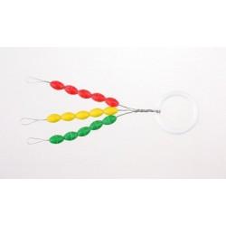 Stopery gumowe kolorowe - LL