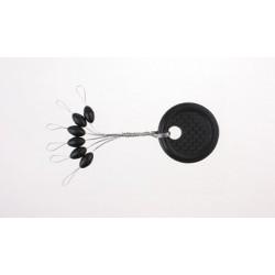 Stopery gumowe czarne - LL