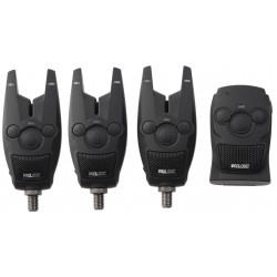 Zestaw sygnalizatorów Prologic Bat Alarm Set 3+1 - Blue