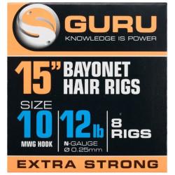 Przypony Guru Ready Rigs With Bayonet 38cm