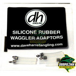 Adaptery Dave Harrell Angling Silicone Waggler Adaptor - 6 sztuk
