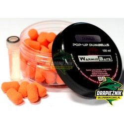 Warmuz Baits Dumbells Pop-Up 10mm + dopalacz - Donald