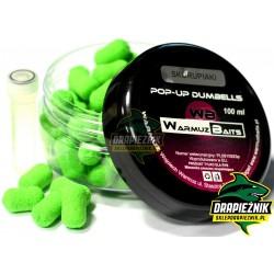 Warmuz Baits Dumbells Pop-Up 10mm + dopalacz - Skorupiaki