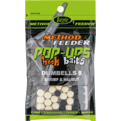 Lorpio Pop-Ups Hook Baits Dumbells 8x10mm - Shrimp & Halibut