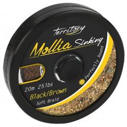 Plecionka Mikado Mollia 10m - Brązowa 25lb