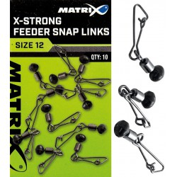 Łącznik Matrix X-Strong Feeder Bead Snap Links