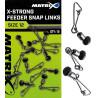 Łącznik Matrix X-Strong Feeder Bead Snap Links
