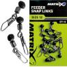 Łącznik Matrix Feeder Bead Snap Links