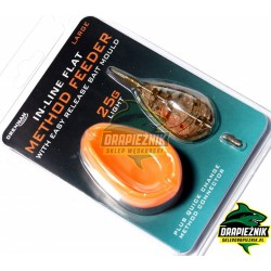 Zestaw Drennan In-Line Flat Method Feeder 35g - LARGE