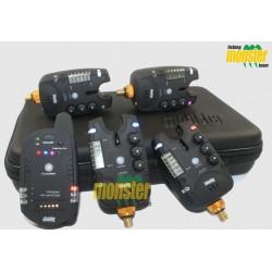 Zestaw sygnalizatorów Monster Fishing MF-213C v3 RGB - 4+1
