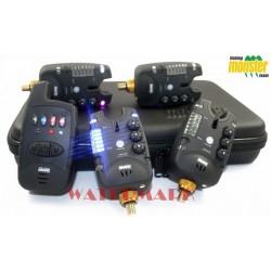 Zestaw sygnalizatorów Monster Fishing MF-213C v1 - 3+1