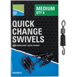 Łączniki Preston Quick Change Swivels