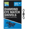Krętliki Preston Diamond Eye Match Swivels