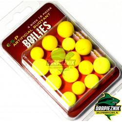 Sztuczne kulki E-S-P Boilies - Żółte