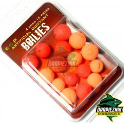 Sztuczne kulki E-S-P Boilies - Czerwone // Pomarańczowe