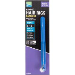 "Preston KKM-B Mag Store Hair Rigs - 4"" / BANDED / roz.16"