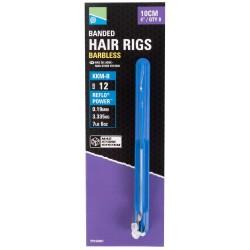 "Preston KKM-B Mag Store Hair Rigs - 4"" / BANDED / roz.12"