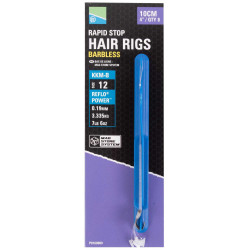 "Preston KKM-B Mag Store Hair Rigs - 4"" / RAPID STOP / roz.12"