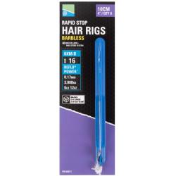 "Preston KKM-B Mag Store Hair Rigs - 4"" / RAPID STOP / roz.16"