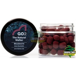 Waftersy Spotted Fin GO2 The Natural Wafter 8mm - Bloodworm