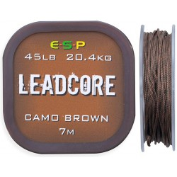 Leadcore ESP 7m 45lb - Camo Brown