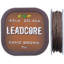 Leadcore ESP 7m 45lb - Camo Brown