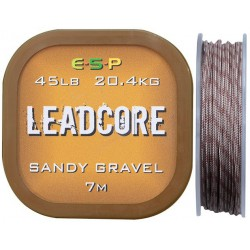 Leadcore ESP 7m 45lb - Sandy Gravel
