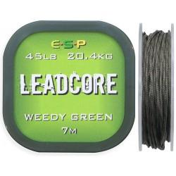 Leadcore ESP 7m 45lb - Weedy Green