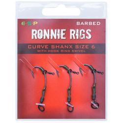 Haczyki ESP Ronnie Rig - roz. 6