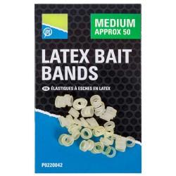 Gumki do pelletu Preston Latex Bait Bands  - Medium
