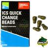 Łączniki ICS Quick Change Dura Beads - Small