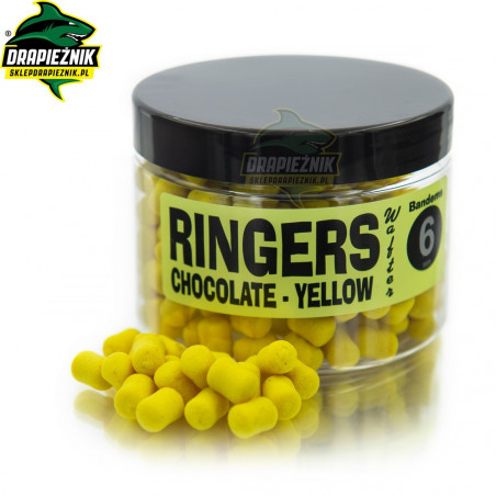 Ringers Chocolate Yellow Wafters 6mm