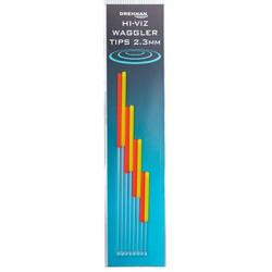 Zestaw Anten Drennan Hi-Viz Waggler Tips - 2.3mm