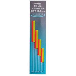 Zestaw Anten Drennan Hi-Viz Waggler Tips - 3.2mm